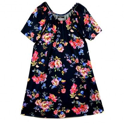 b9bfb7a01b Sukienka Hiszpanka Oversizowa Violets Laci jako Rozmiar 46 48