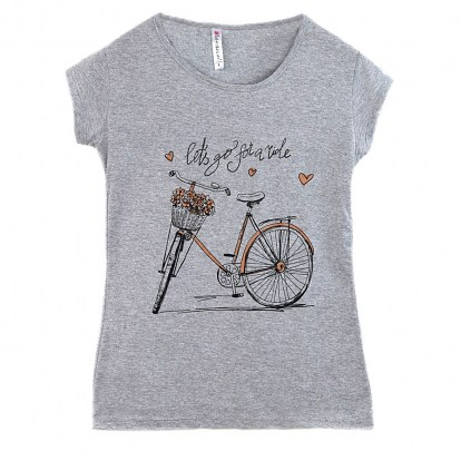 T-shirt damski Bike Kod 1188